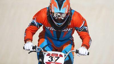 Baku-bound van Gorkom takes third in Papendal BMX World Cup