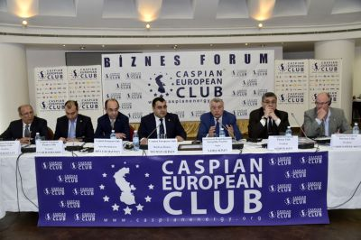 Caspian European Club hosts a business forum with the Ministry of Energy of Azerbaijan PHOTO