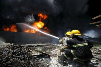 Dozens killed in Philippine factory fire