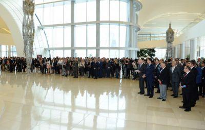 Exhibition of Turkish Fine Arts at Heydar Aliyev Center