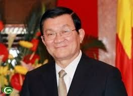 An official welcoming ceremony for President of Vietnam
