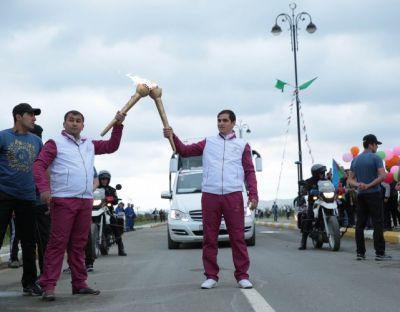 Baku 2015: Flame in Goranboy