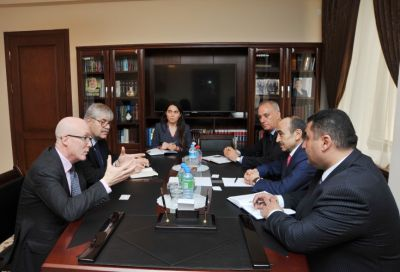 Ali Hasanov met President of the EANA and Vice-President of the Associated Press