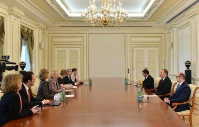 President received Karin Strenz