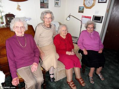 World's oldest sisters reach a combined age of 391