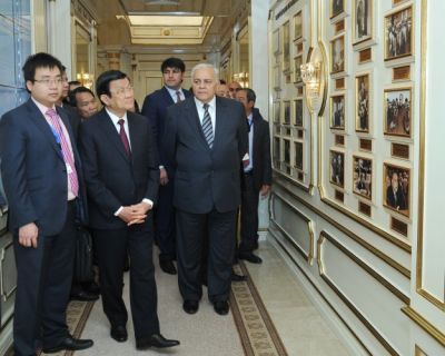 Vietnamese President visits Milli Mejlis
