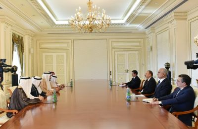 President Ilham Aliyev received  Saudi Arabian Minister
