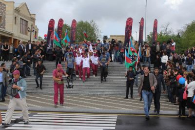 Journey of the Flame arrives in Goygol