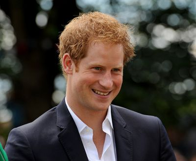 Prince Harry's sweet moment