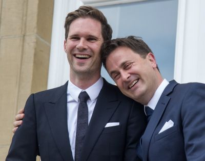 Luxembourg's PM married with a same-sex partner