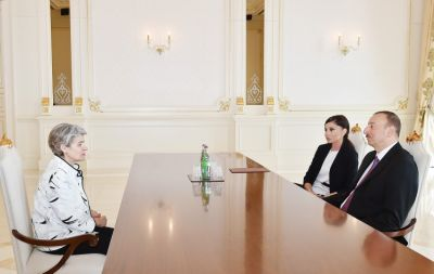 President received director general of UNESCO