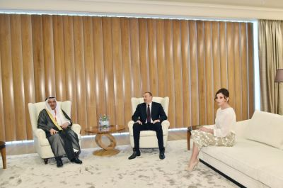 Ilham Aliyev receives OIC Secretary General