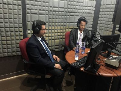 EBC radio airs program on Baku 2015