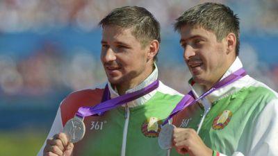 Bogdanovich Canoe brothers top strong Belarusian Baku 2015 team