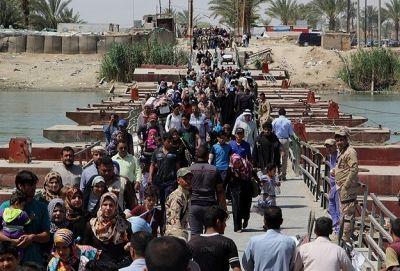 25,000 Iraqis leave Ramadi