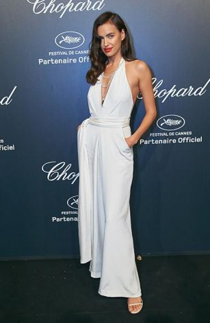 Irina Shayk  at Chopard party in Cannes