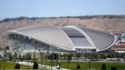 Baku Aquatics Center looks to the future