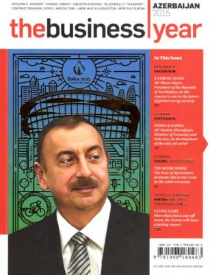 """The Business Year"" magazine highlights Baku 2015"