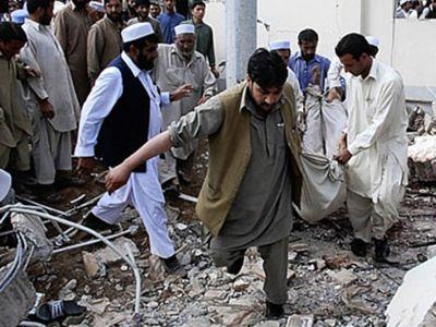 Shia mosque bombed, 21 killed