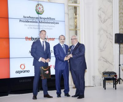 "Ali Hasanov received a special plaquette of ""The Business Year""  PHOTO"
