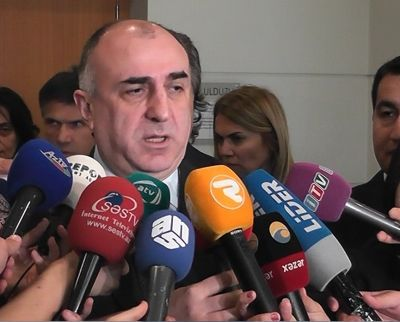 Mammadyarov: Reports on my leaving the summit is Armenian side's fiction