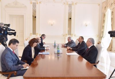 Ilham Aliyev received Director-General of the FAO