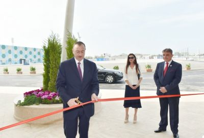 President attended the opening of recreation and entertainment center