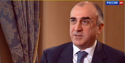 "Azerbaijani FM interviewed by ""Russia-24"""