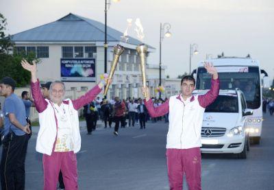 Baku 2015: Flame in Gabala
