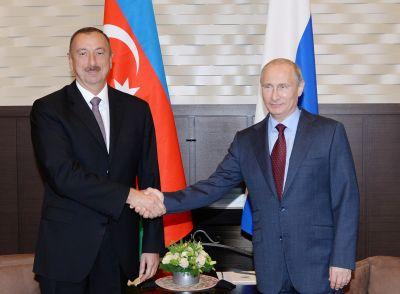 Russian President congratulates Azerbaijani President