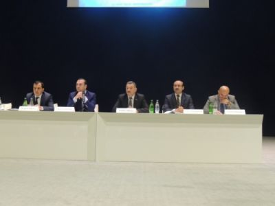 Müşavirədə I Avropa Oyunlarına hazırlıq məsələləri müzakirə edilib - FOTOLAR