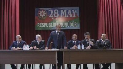 Ağdamda 28 May Respublika günü qeyd edilib