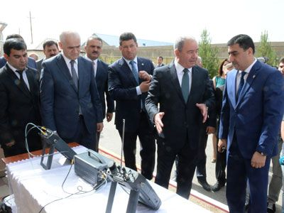 Azerbaijani Minister inspects Centralized Automatic Monitoring Network