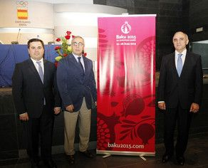 Presentation of  Baku 20015 held in Madrid