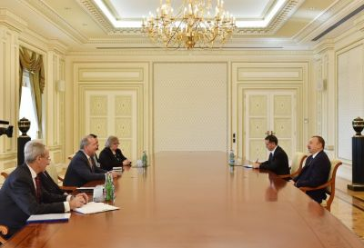 Azerbaijani President received the Lord Mayor of London