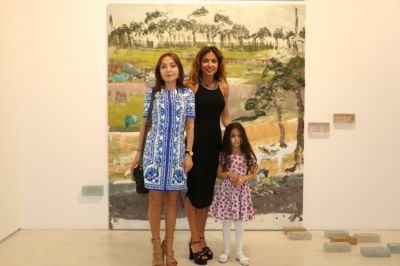 Aida Mahmudova's first solo exhibition opened