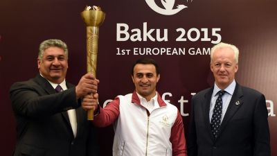 Baku 2015 Flame route in Baku revealed
