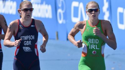 Alarza and Reid shine at ITU World Triathlon