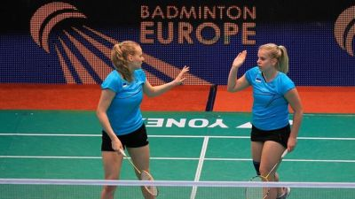 Estonian duo picks up Badminton win in Riga