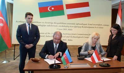 The 8th meeting of Azerbaijan-Austria cooperation held