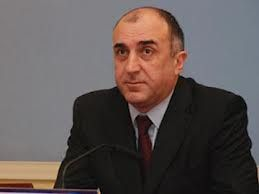 Elmar Mammadyarov receives outgoing OSCE Project Coordinator