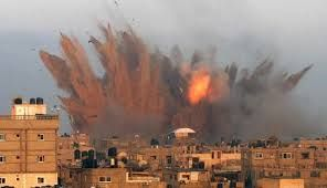 Israel bombs Gaza sites