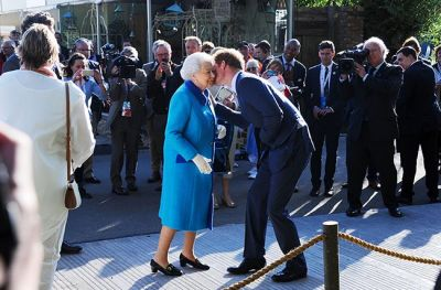 Prince Harry  knighted by the Queen