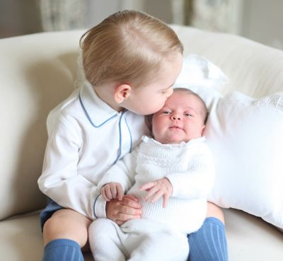 Princess Charlotte and Prince George  PHOTO