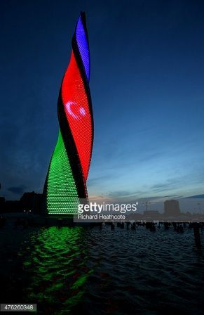Getty Image put  photosession of Baku