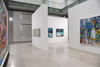 "President attended the opening of ""Azerbaijani painting in the 20th-21st centuries"" exhibition PHOTO"