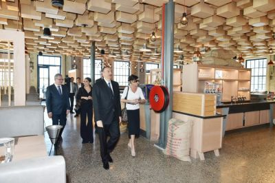 "Azerbaijani President reviewed ""Atelye 61"" restaurant"
