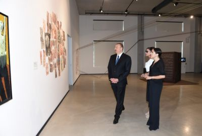 Ilham Aliyev reviewed the first permanent place of YARAT PHOTO