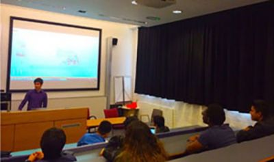 Baku 2015 presented at University College London