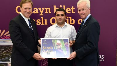 Baku 2015 and Nar announce final Lucky Winner